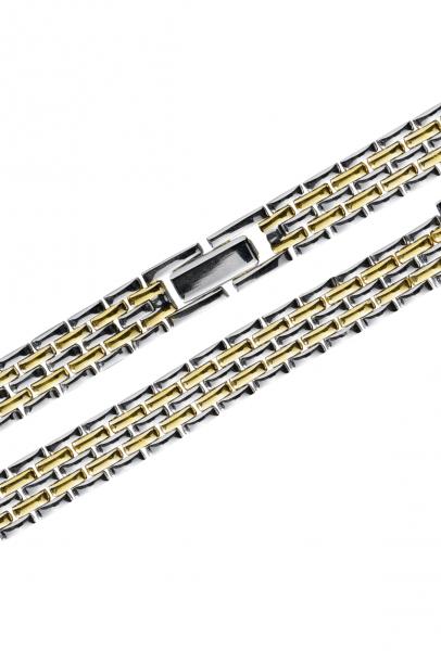 Stalux 12/10mm Edelstahl bicolor