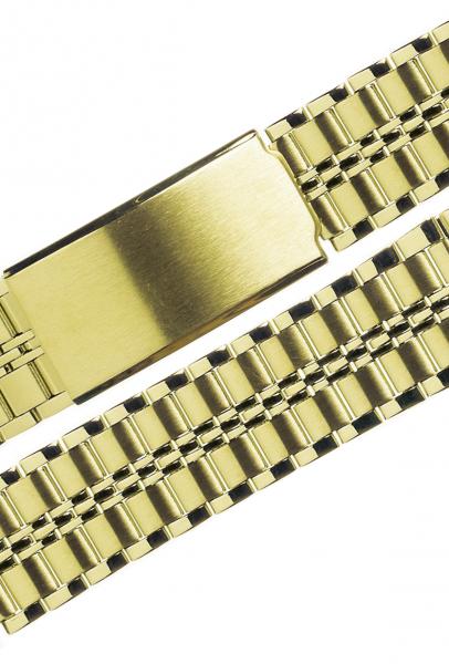 Stalux 18/20mm Edelstahl vergoldet